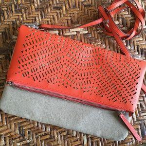 Stella & Dot NWOT Crossbody Handbag Orange